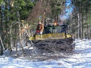 JoMary Riders Snowmobile Trail Maintenance