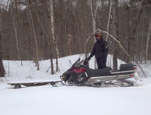 Plenty of snow on the Jo Mary area after the storm on Saturday, February 9, 2013
