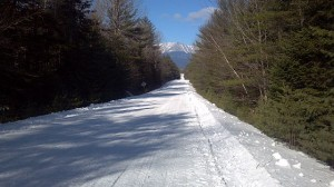 ITS86 snowmobile trail on February 3, 2013