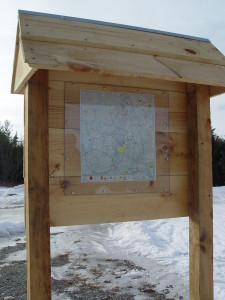 Snowmobile Trail Map Kiosk