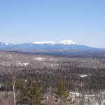 Mt Katahdin from Farrar Leanto