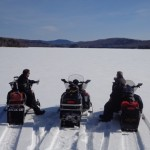 First Tracks on the Lake - April 4th