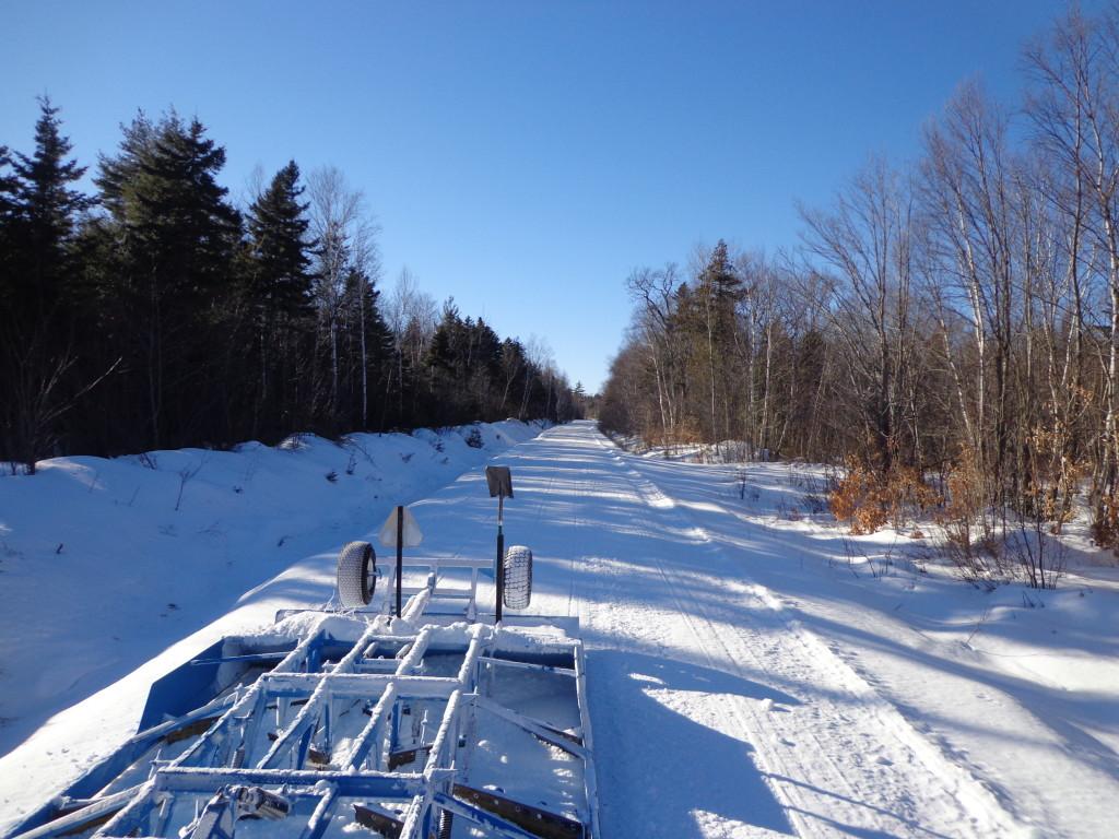 B Pond trail