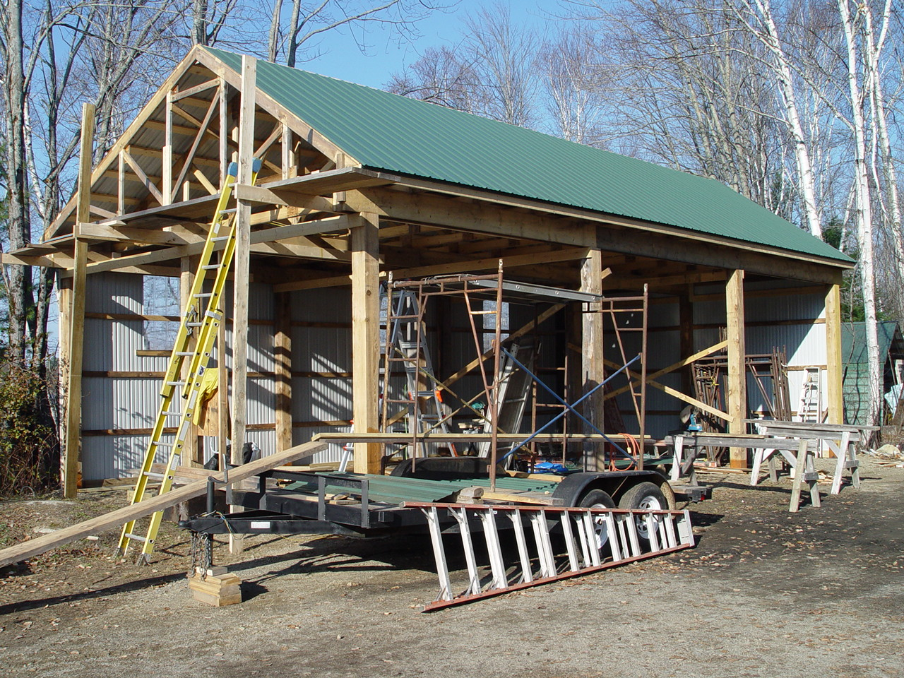 Groomer Barn Construction Project Jomary Riders